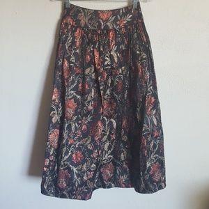 Vintage Scott McClintock floral skirt